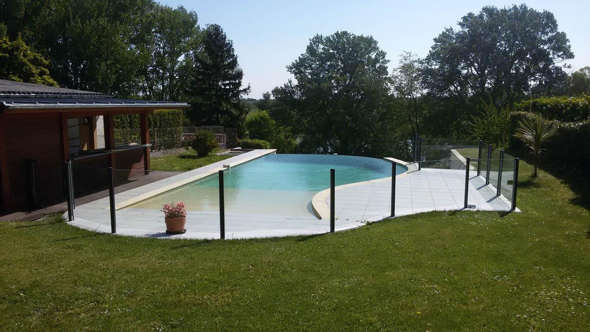 barriere piscine transparente verre agen