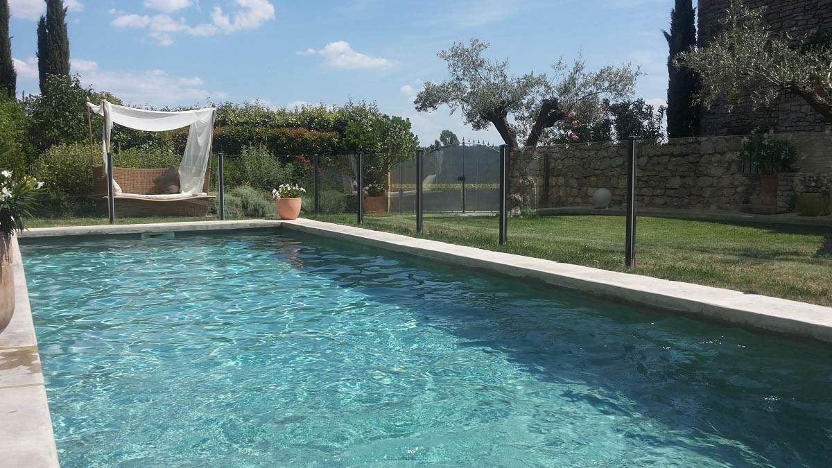 barriere piscine transparente verre ales