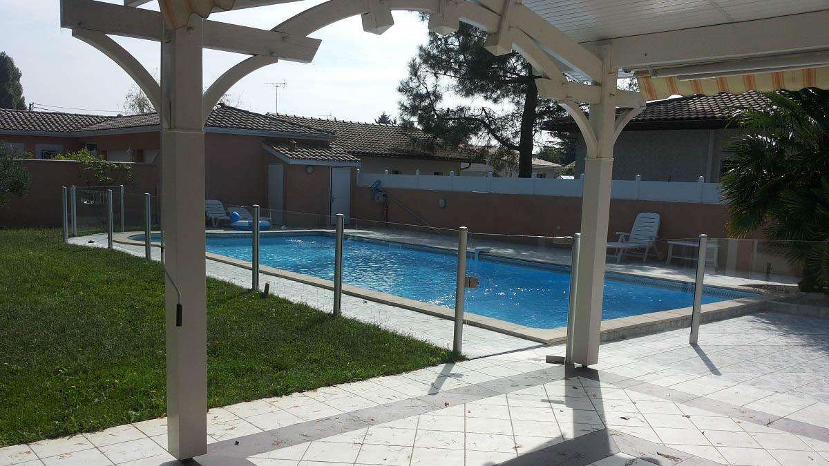 barriere piscine transparente verre arcachon