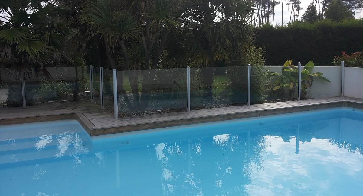 barriere piscine transparente verre dax