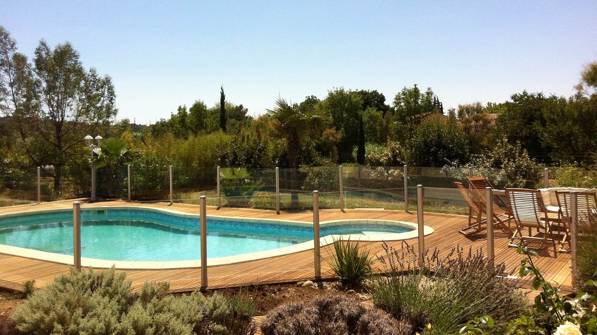 barriere piscine transparente verre montpellier