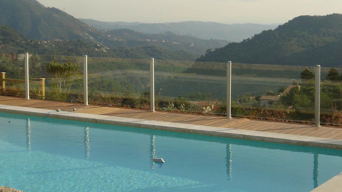 barriere piscine transparente verre nice
