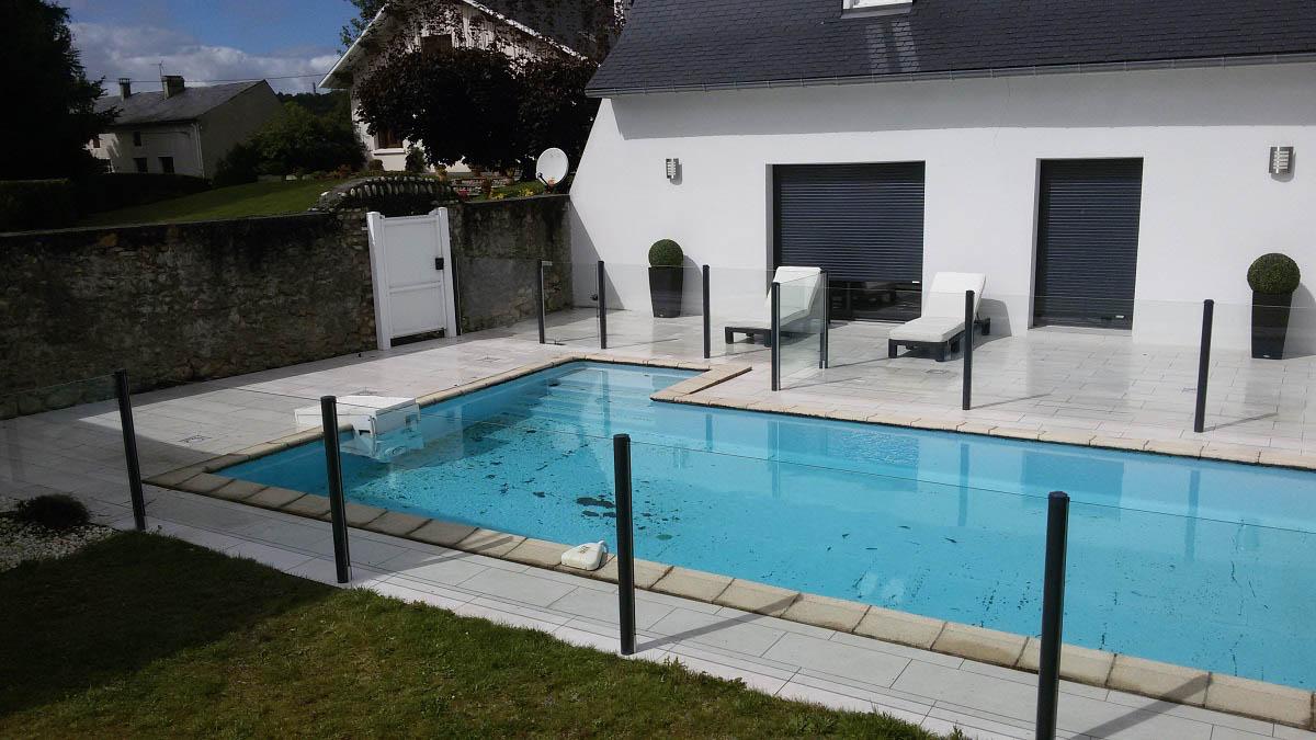 barriere piscine transparente verre tarbes