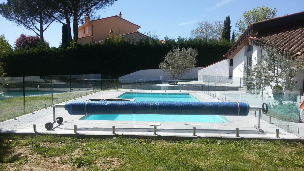 barriere piscine verre sans poteau foix