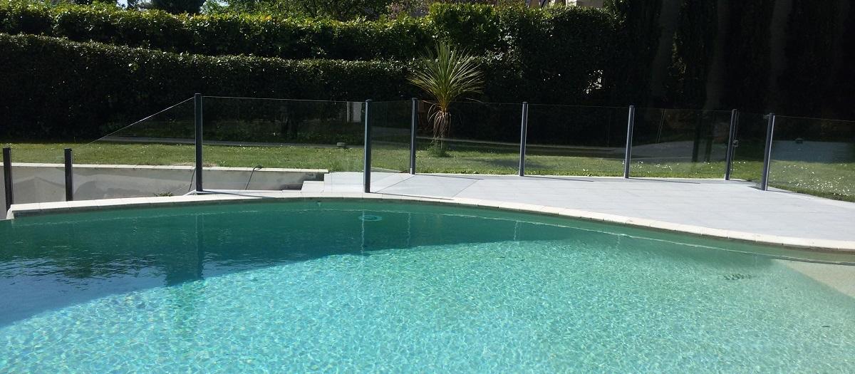 barriere piscine transparente verre agen bandeau